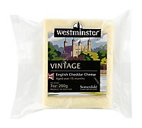 Somerdale Cheese Westminster Vintage Cheddar - 7 Oz