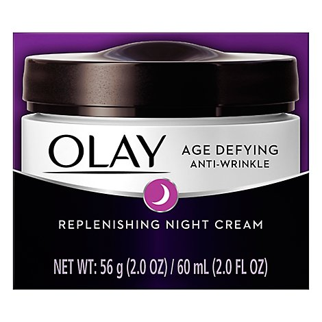 Olay Age Defying Night Cream Anti Wrinkle - 2 Oz