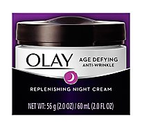 Olay Age Defying Night Cream Anti-Wrinkle - 2 Oz