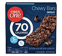 Fiber One Chewy Bars 90 Calories Chocolate - 5-0.82 Oz