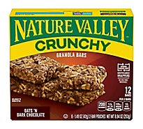 Nature Valley Granola Bars Crunchy Oats n Dark Chocolate - 6-1.49 Oz
