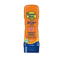 Banana Boat Sport Performance Sunscreen Lotion Broad Spectrum SPF 50+ - 8 Fl. Oz.