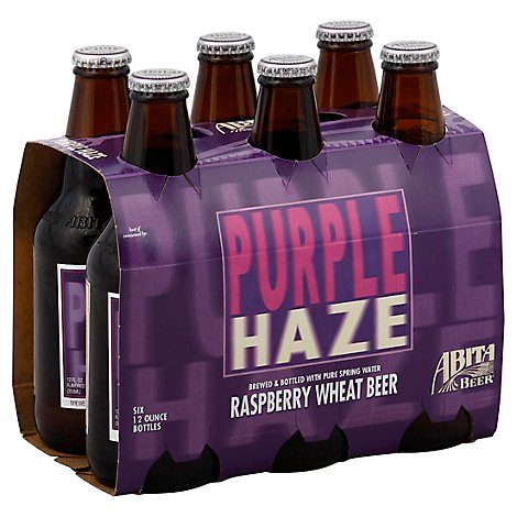 Abita Purple Haze Bottles - 6-12 Fl. Oz.