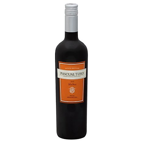 Pascual Toso Estate Malbec Wine - 750 Ml