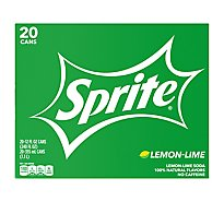 Sprite Soda Lemon Lime - 20-12 Fl. Oz.