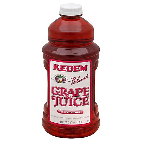 Kedem Blush Grape Juice - 64 Fl. Oz.