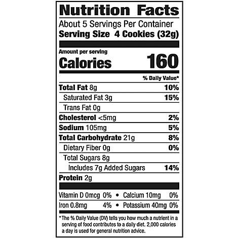 Pepperidge Farm Cookies Sweet & Simple Lemon - 6.0 Oz