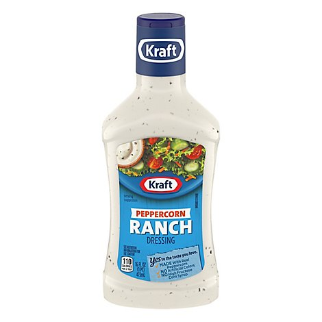 Kraft Dressing Peppercorn Ranch - 16 Fl. Oz.