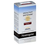 Neutrogena Healthy Defense Daily Moisturizer With Sunscreen Broad Spectrum SPF 50 - 1.7 Fl. Oz.