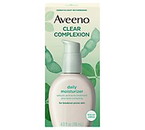 Aveeno Active Naturals Moisturizer Daily Clear Complexion - 4 Fl. Oz.