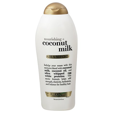 OGX Shampoo Coconut Milk Salon Size - 25.4 Fl. Oz.