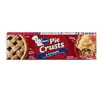 Pillsbury Pie Crusts 2 Count - 14.1 Oz