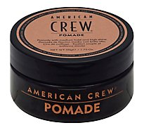 American Crew Pomade with Medium Hold and High Shine - 1.75 Oz