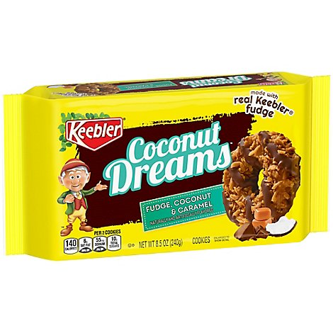 Keebler Coconut Dreams Cookies Fudge Coconut & Caramel - 8.5 Oz