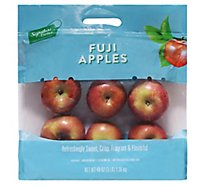 Signature Farms Fuji Apples Prepacked Bag - 3 Lb