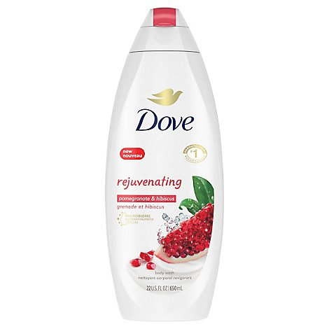 Dove Go Fresh Body Wash Rejuvenating Pomegranate & Lemon Verbena Scent - 22 Fl. Oz.