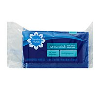 Signature SELECT/Home Scrubber Sponges No Scratch Multi Purpose Handy Size - 3 Count