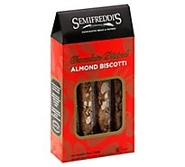 Semifreddis Chocolate Dipped Almond Biscotti - 1-5 Oz