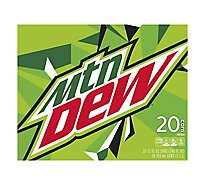 Mtn Dew Soda Original - 20-12 Fl. Oz.