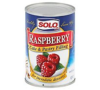 SOLO Cake & Pastry Filling Raspberry - 12 Oz