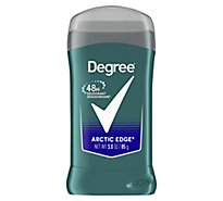 Degree For Men Fresh Deodorant 48 Hour Stick Arctic Edge Tube - 3 Oz