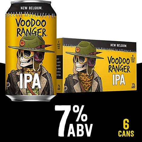 New Belgium Beer Ranger Ipa Bottle - 6-12 Fl. Oz.