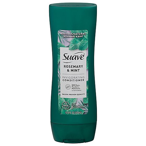 Suave Professionals Conditioner Invigorating Clean Rosemary + Mint - 12.6 Fl. Oz.