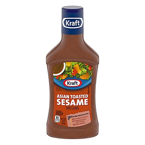 Kraft Dressing Asian Toasted Sesame - 16 Fl. Oz.