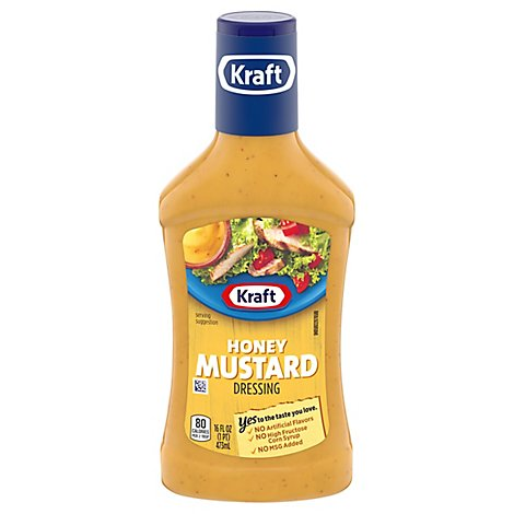 Kraft Dressing Honey Mustard - 16 Fl. Oz.