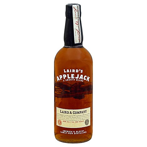 Lairds Brandy Applejack 80 Proof - 750 Ml