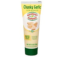 Gourmet Garden Stir In Paste Chunky Garlic - 4 Oz