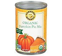 Farmers Market Organic Puree Pumpkin Pie Mix - 15 Oz
