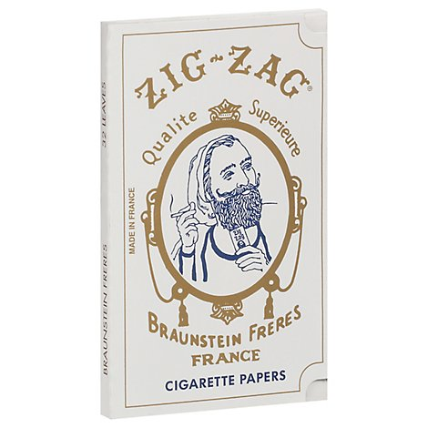 Zig Zag White Cigarette Paper - Each