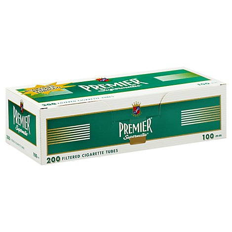 Premier Extra Long Cigarette Tubes - 200 Count