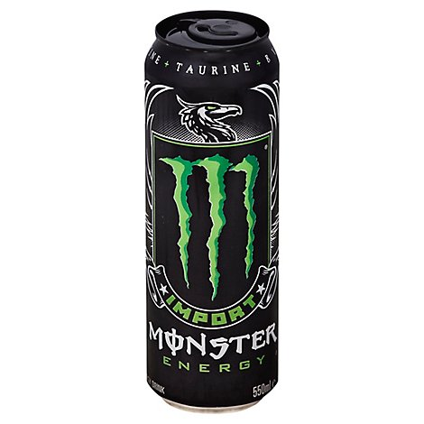 Monster Energy Drink Import - 18.6 Fl. Oz.