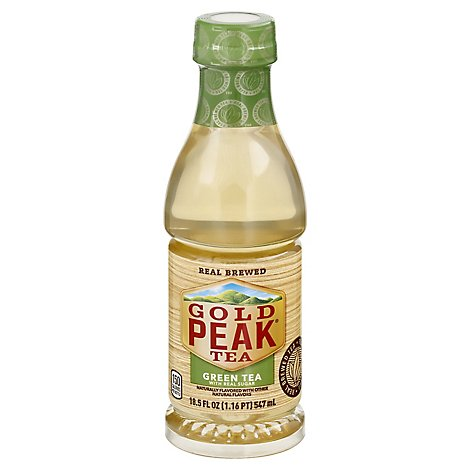 Gold Peak Tea Green Iced Sweetened - 18.5 Fl. Oz.