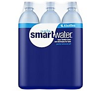 smartwater Vapor Distilled Water - 6-33.8 Fl. Oz.