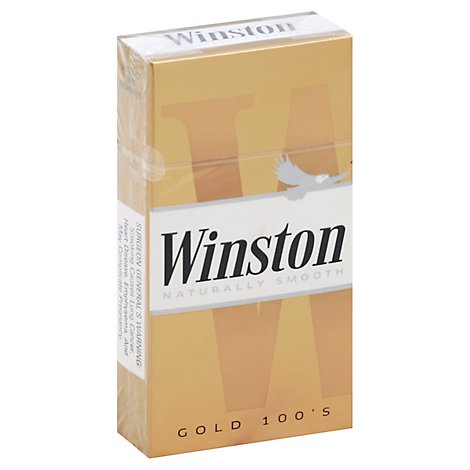Winston Cigarettes Light 100s Box - Pack