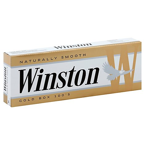 Winston Cigarettes Light 100s Box - Carton