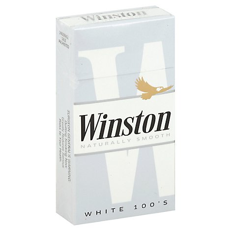 Winston Cigarettes Ultra Lights 100s Box - Pack