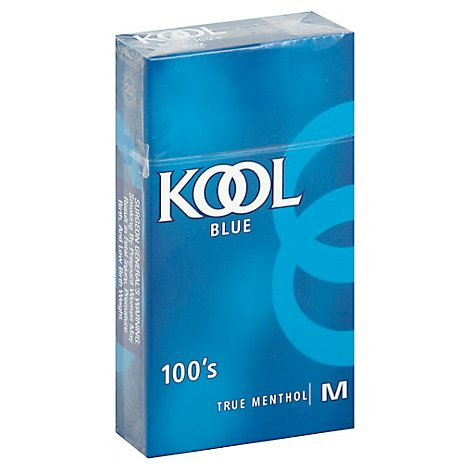KOOL Cigarettes Milds 100s Box - Pack