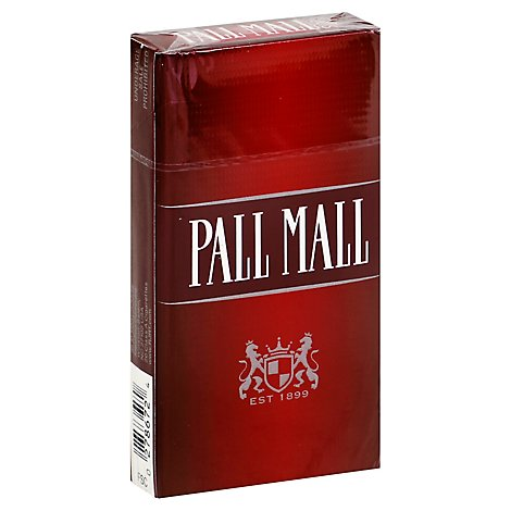 Pall Mall Cigarettes Full Flavor 100s Box - Pack
