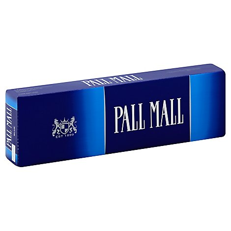 Pall Mall Cigarettes Lights King Box - 200 Count