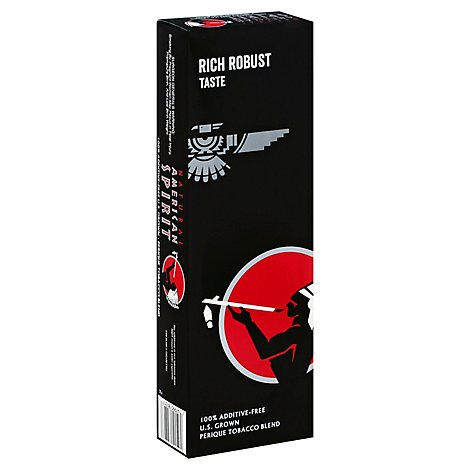 American Spirit Black Perique Box Cigarettes - Carton