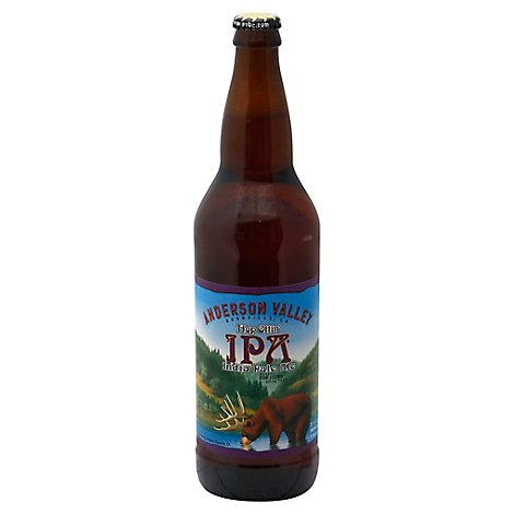 Anderson Valley Brewing Beer Hop Ottin IPA Bottle - 22 Fl. Oz.