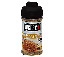Weber Seasoning Beer Can Chicken - 5.5 Oz