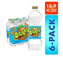 Nestle Splash Water Beverage Natural Mandarin Orange Flavor - 6-16.9 Fl. Oz.