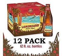 Kona Brewing Longboard Island Lager Bottled Beer - 12-12Fl. Oz.