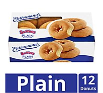 Entenmanns Softees Donuts Plain - 12 Count