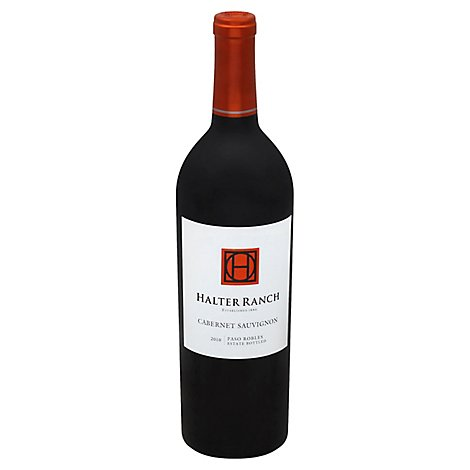 Halter Ranch Cabernet Sauvignon Wine - 750 Ml